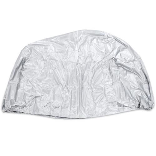 LEISE OUTDOOR 190T POLYESTER TAFFETA MOTORCYCLE COVER (SILVER)