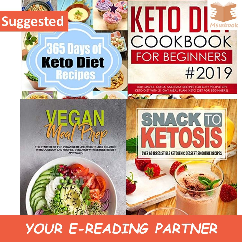 Ebook Bundle Keto Diet Cook Book Weight Loss Shopee Malaysia