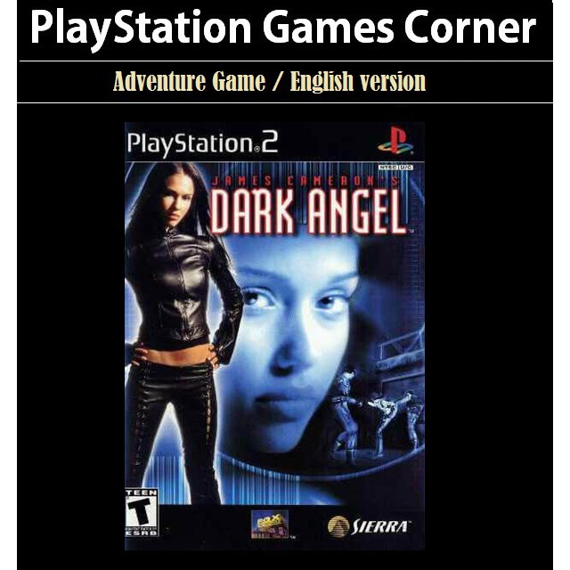 PS2 Game James Cameron Dark Angel, Action Game, English version / PlayStation 2 / Movie Game