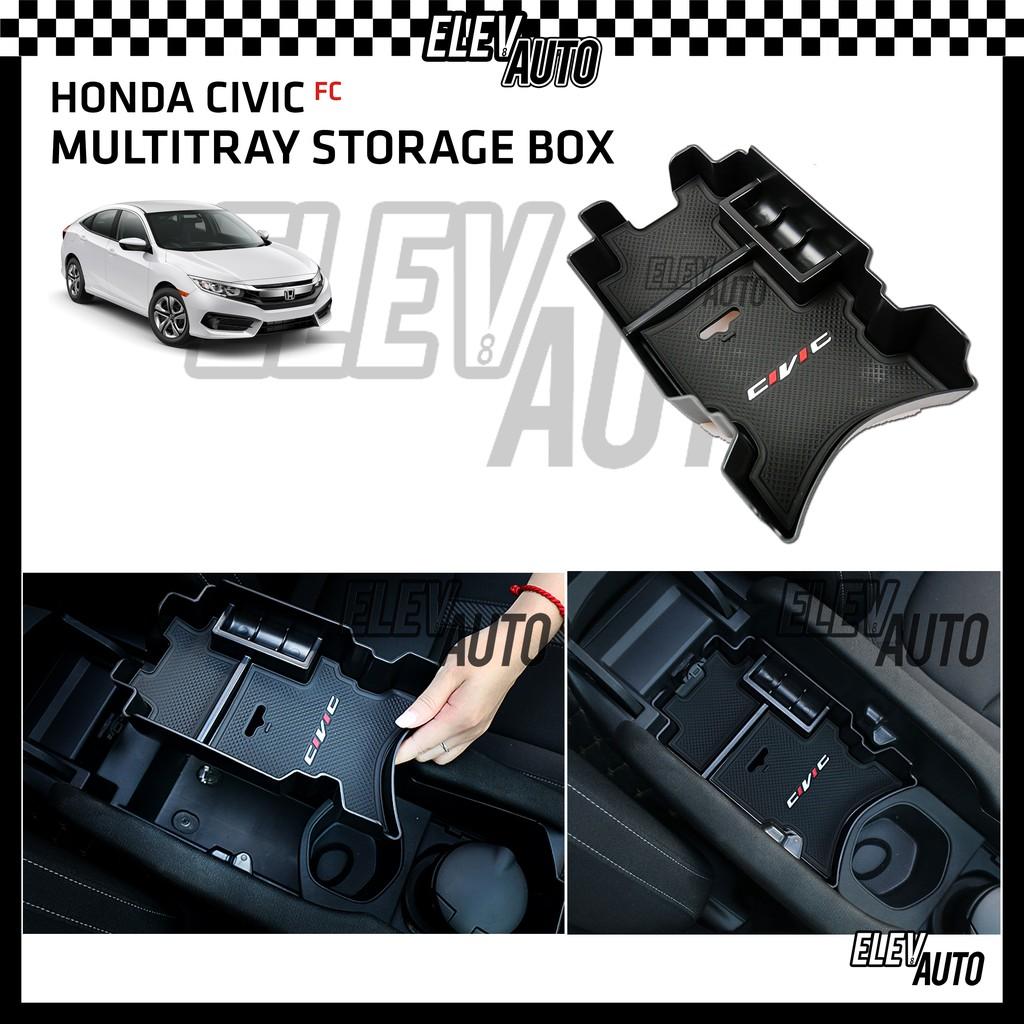 Honda Civic FC 2016-2021 Armrest Center Console Multitray Storage Box
