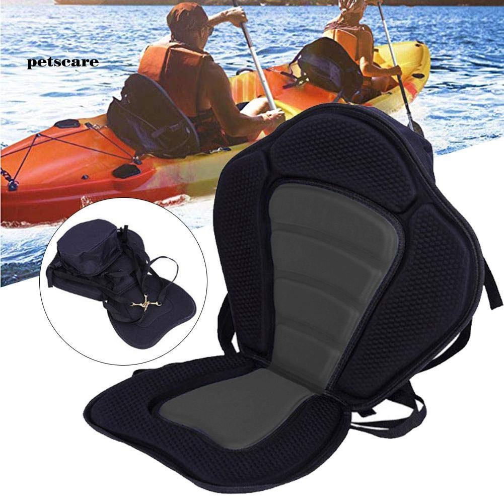 KAYAK CANOE SEAT PAD BACK REST CUSHION INFLATABLE ROWING FISHING BOAT ACCESSORY