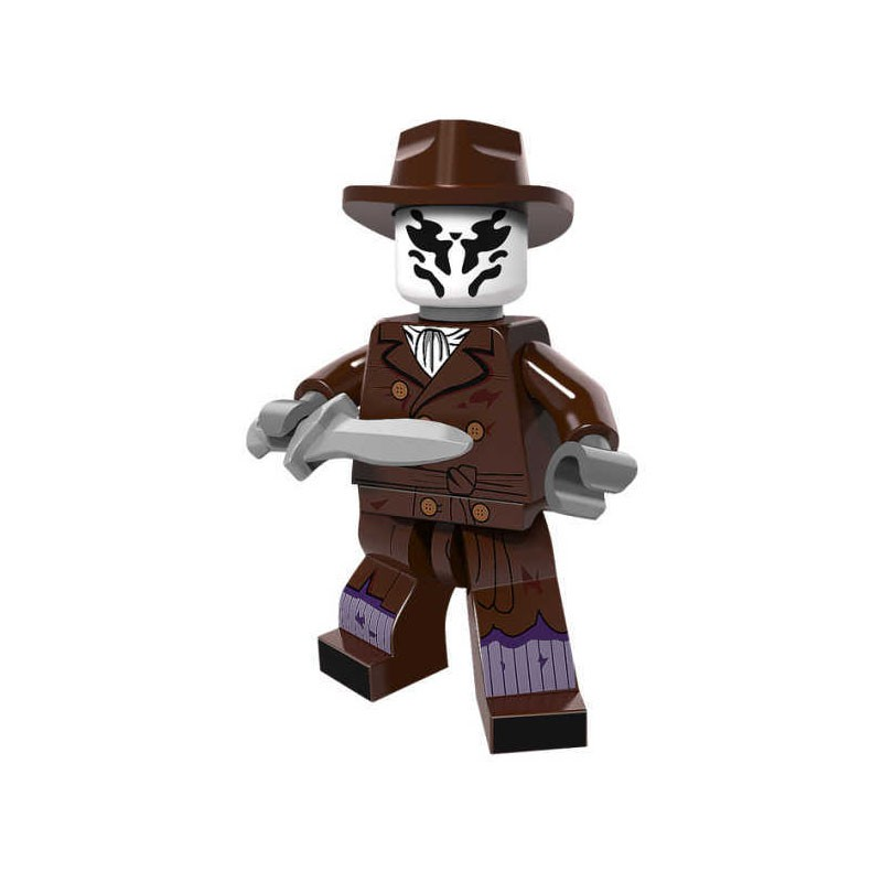 6 Piece Watchmen Building Blocks Mini Figures