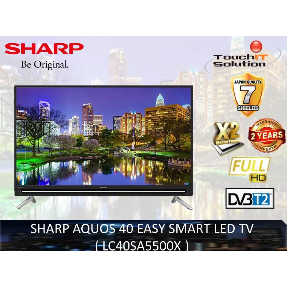 SHARP AQUOS 40 EASY SMART LED TV ( LC40SA5500X )