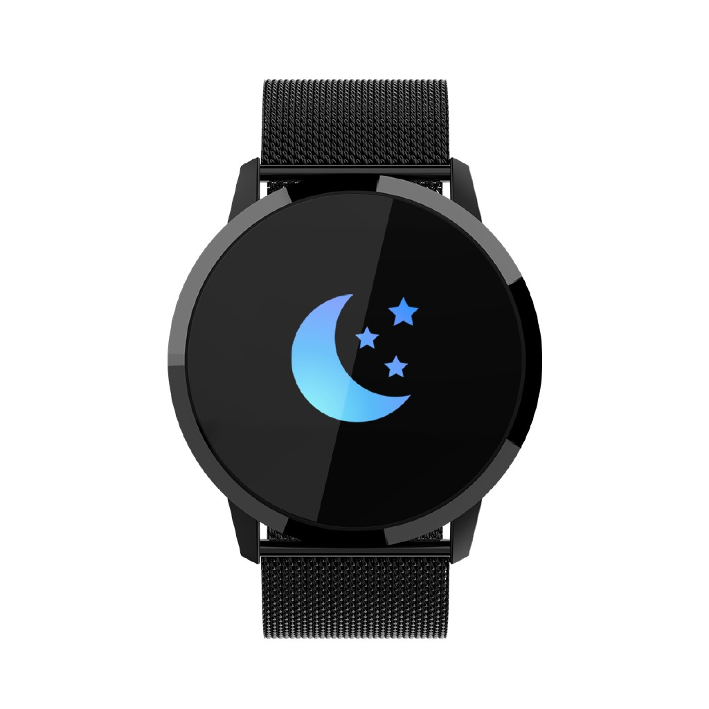 【NMengo】Newwear Q8 Stainless Steel 0.95 inch OLED Color Screen Smart Watch