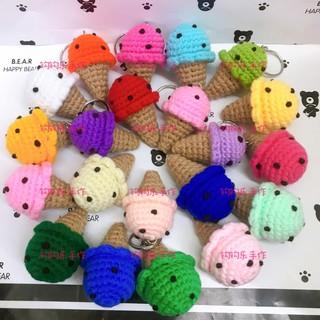 Amigurumi Mini Cactus Keychain Crochet Patterns - Crochet & Knitting | 320x320