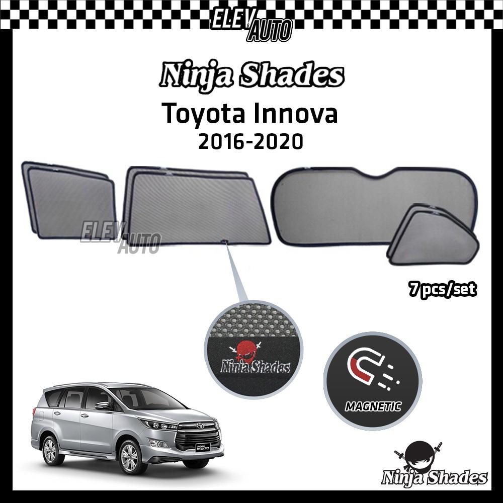 Toyota Innova 2016-2021 Ninja Shades OEM Magnetic Sunshade