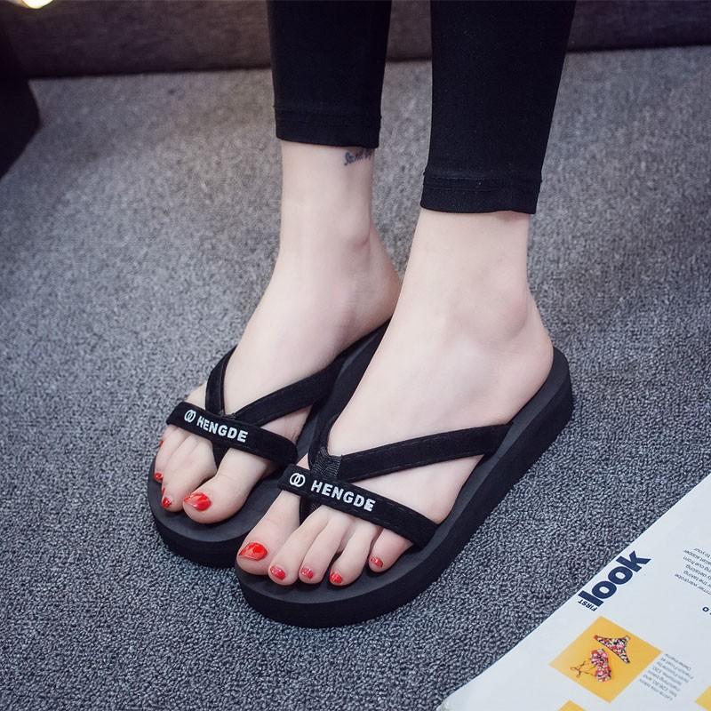 6bb1ea318a26 Ulzzang Korean Female Sandals