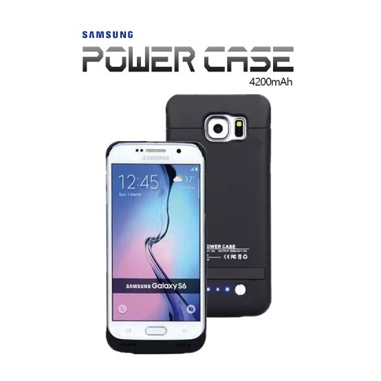 Power Case 4200mAh External Battery For Galaxy S6/S6 Edge