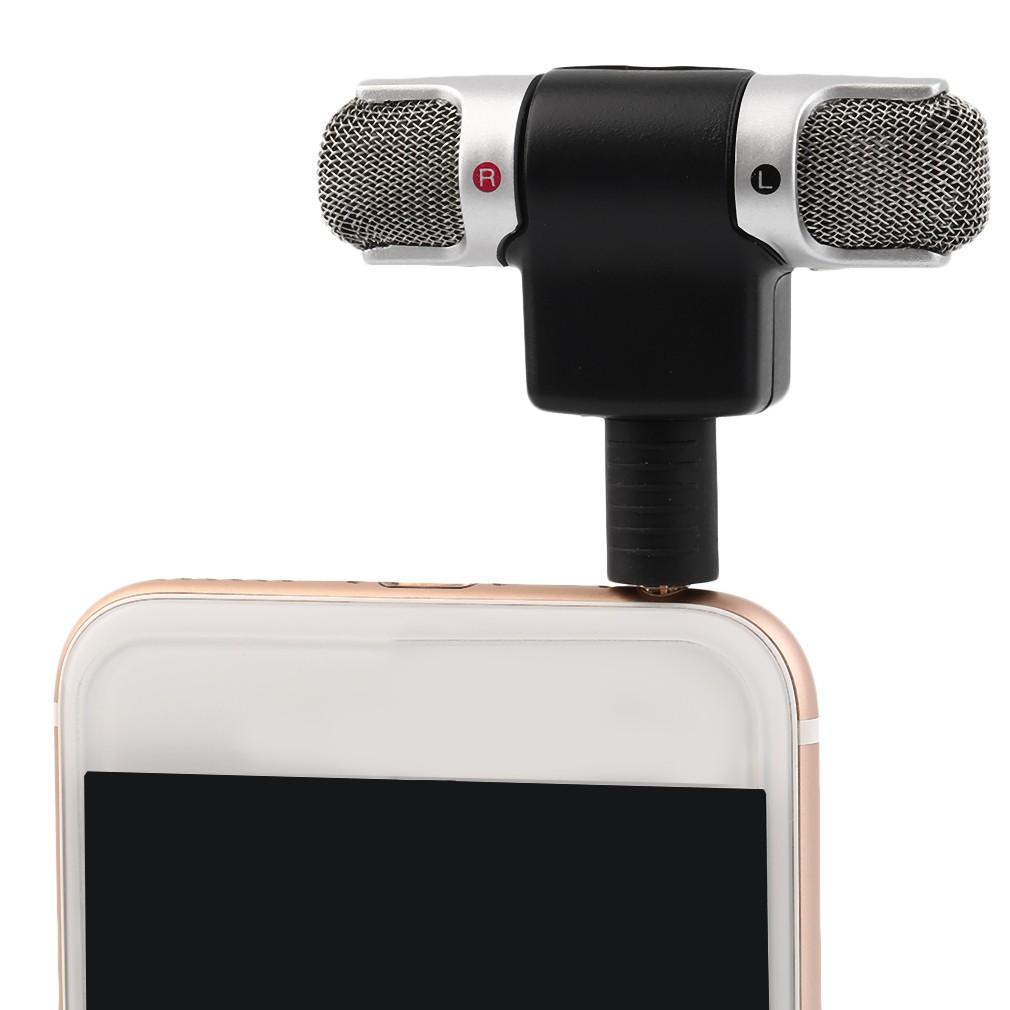 Portable Mini Mic Digital Stereo Microphone For Recorder Mobile Smule Dengan Headset Jack 35 Phone Shopee Malaysia