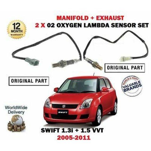 OXYGEN SENSOR /O2 SENSOR /EXHAUST SENSOR FRONT AND REAR SUZUKI SWIFT 1 5  (OEM)