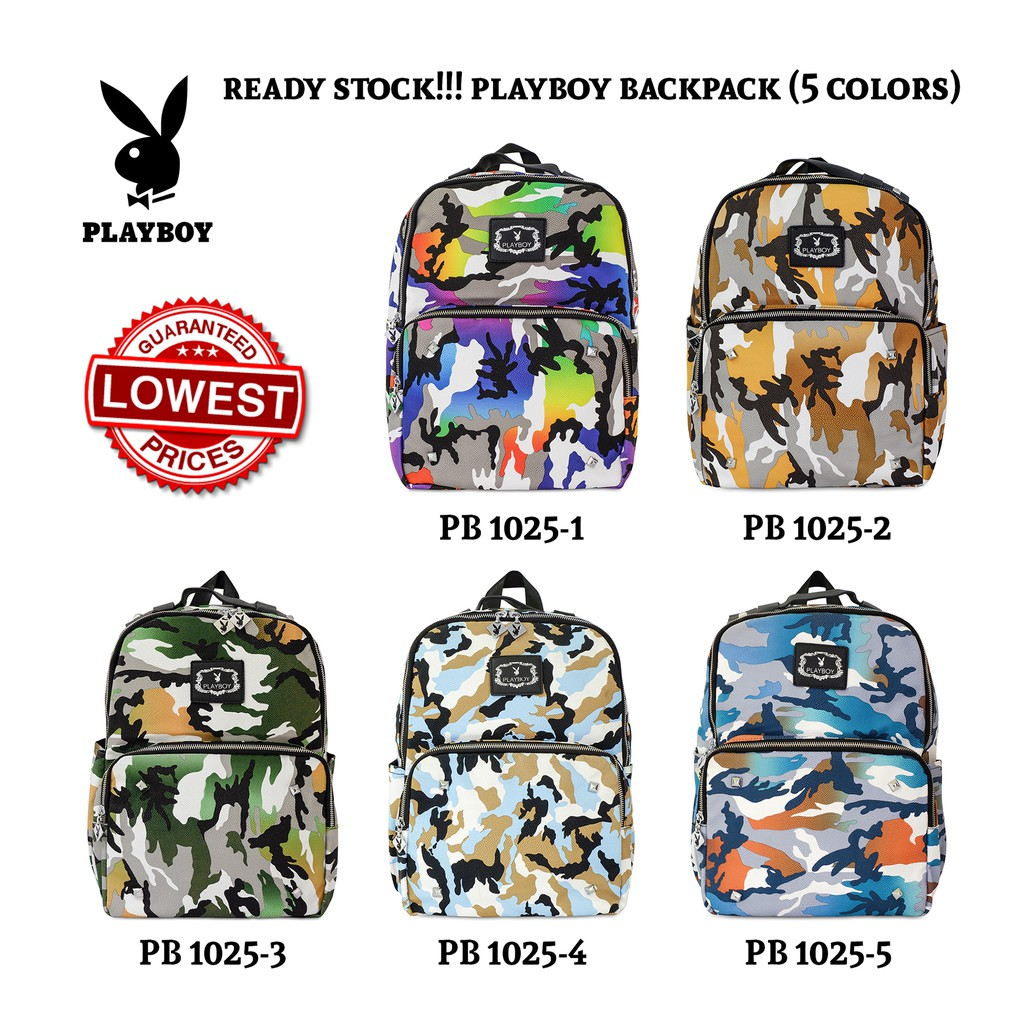 [OFFICIAL] PLAYBOY BACKPACK (PB 1025)
