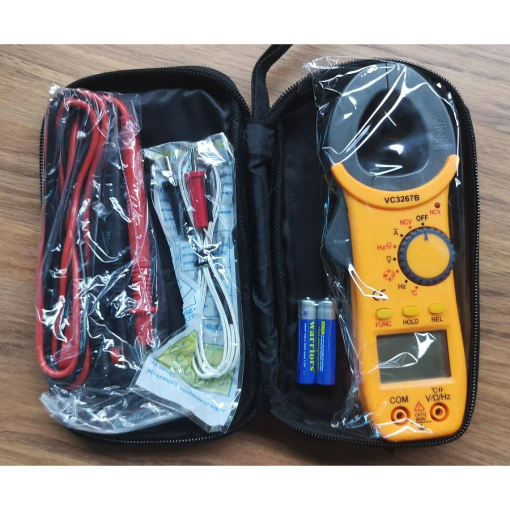 ZERO DIGITAL AC CLAMP METER (VC3267B)