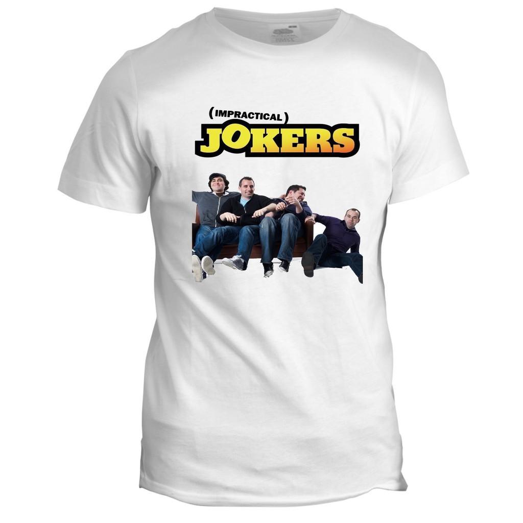 Impractical Jokers 90s sci fi retro Mens Cult Classic TV Film Movie T Shirt