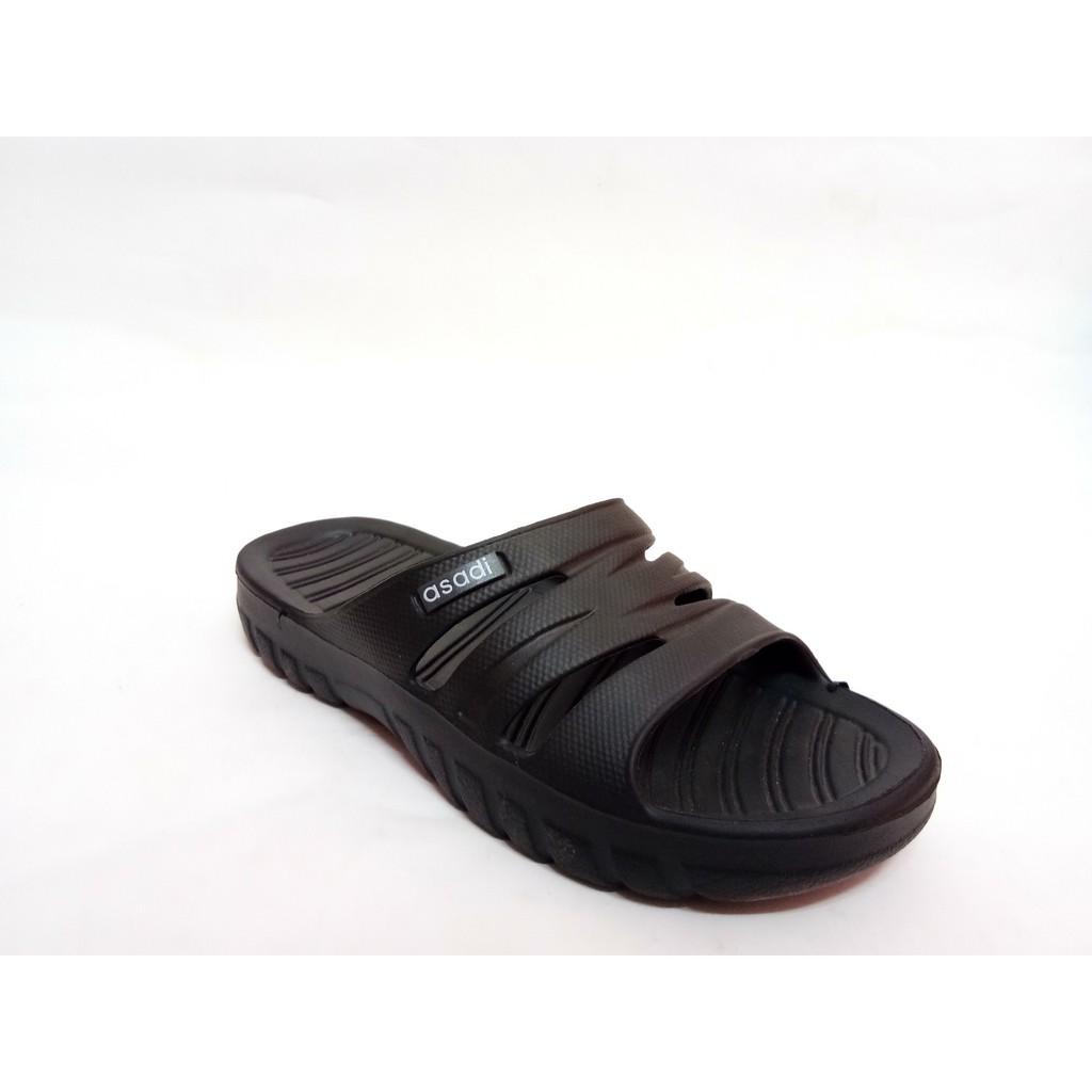 【Extra Size】Ready Stock Asadi MJA1266 Flip-Flop Selipar Kasut Sandal Unisex size 5-12(2 Colors)