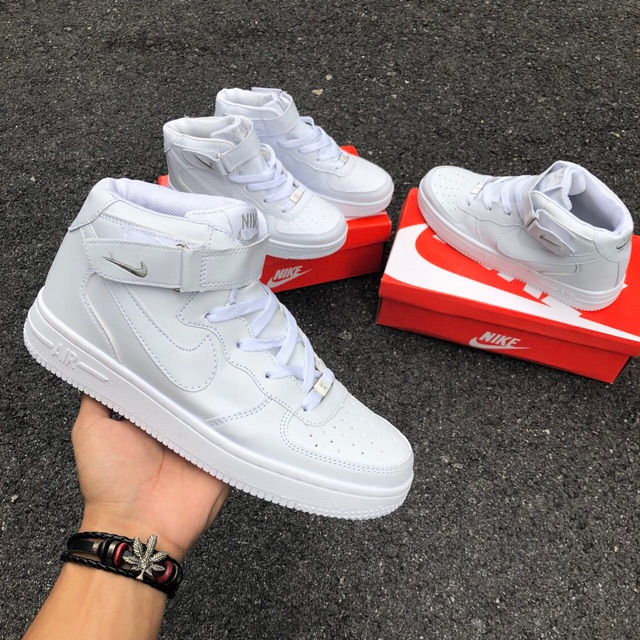 c5c4525e ProductImage. ProductImage. READY STOCK !! AIRFORCE ONE HI CUT ALL WHITE