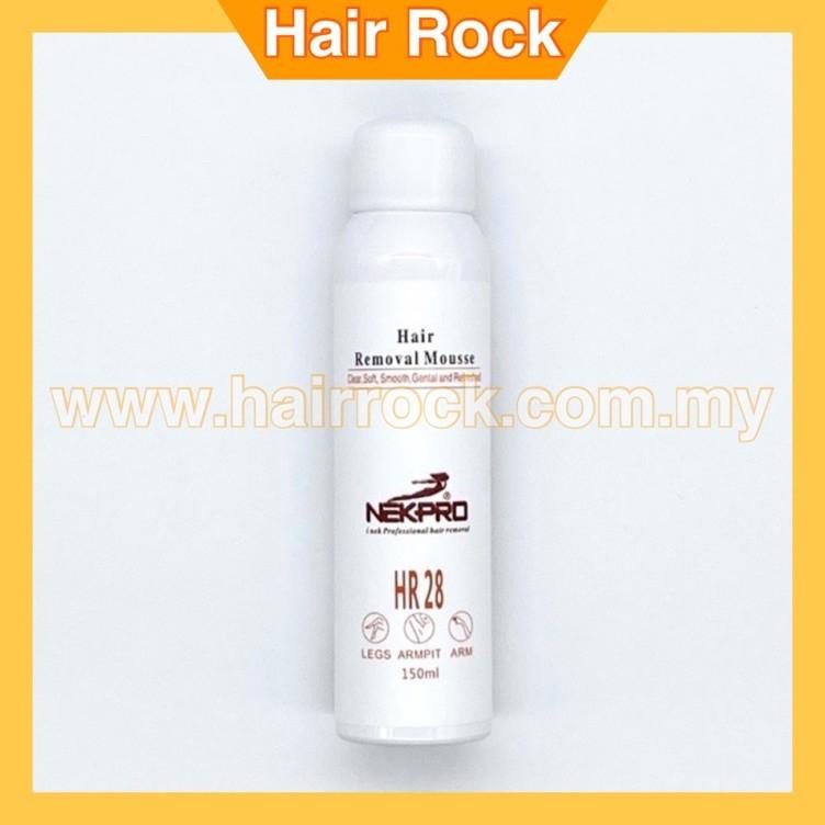 NekPro Painless Hair Removal Mousse Premium Depilatory Mousse