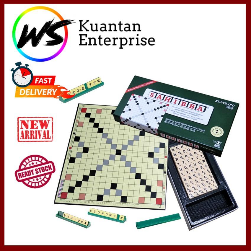 【100% Original】Sahibba Standard SPM Bahasa Malaysia/English Board Game