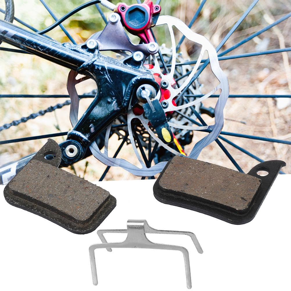 2x Resin Bicycle Brake Pads Bicycle Braking V-Brake Holder Shoes Blocks Surprise