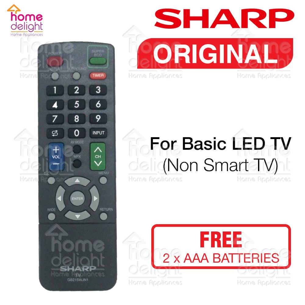 Sharp LED TV Basic Remote Control (Original)