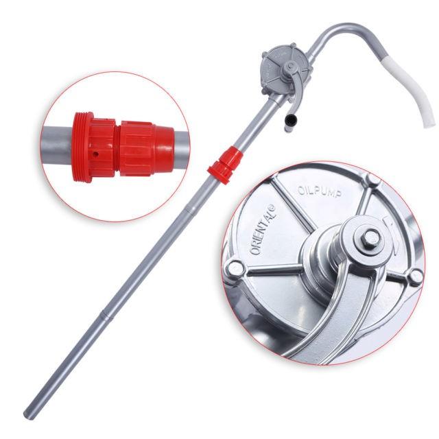 Suntools Aluminium Hand Pump Rotary Drum/Barrel Pump