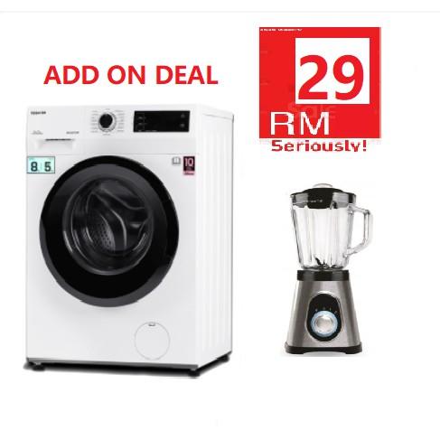 [FREE INSTALLATION] TWD-BK90S2M TOSHIBA FRONT LOAD 8KG Wash/5KG DRYER INVERTER WASHING MACHINE washer