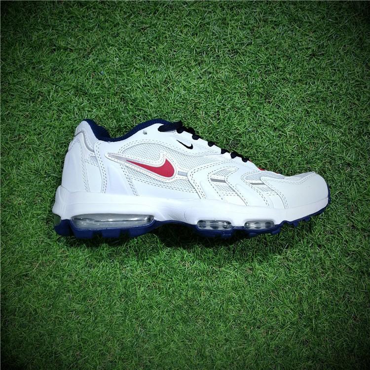 6e7014e1eaa7 Genuine Supreme x Louis Vuitton x Nike Air Max 1 Custom running shoes stock