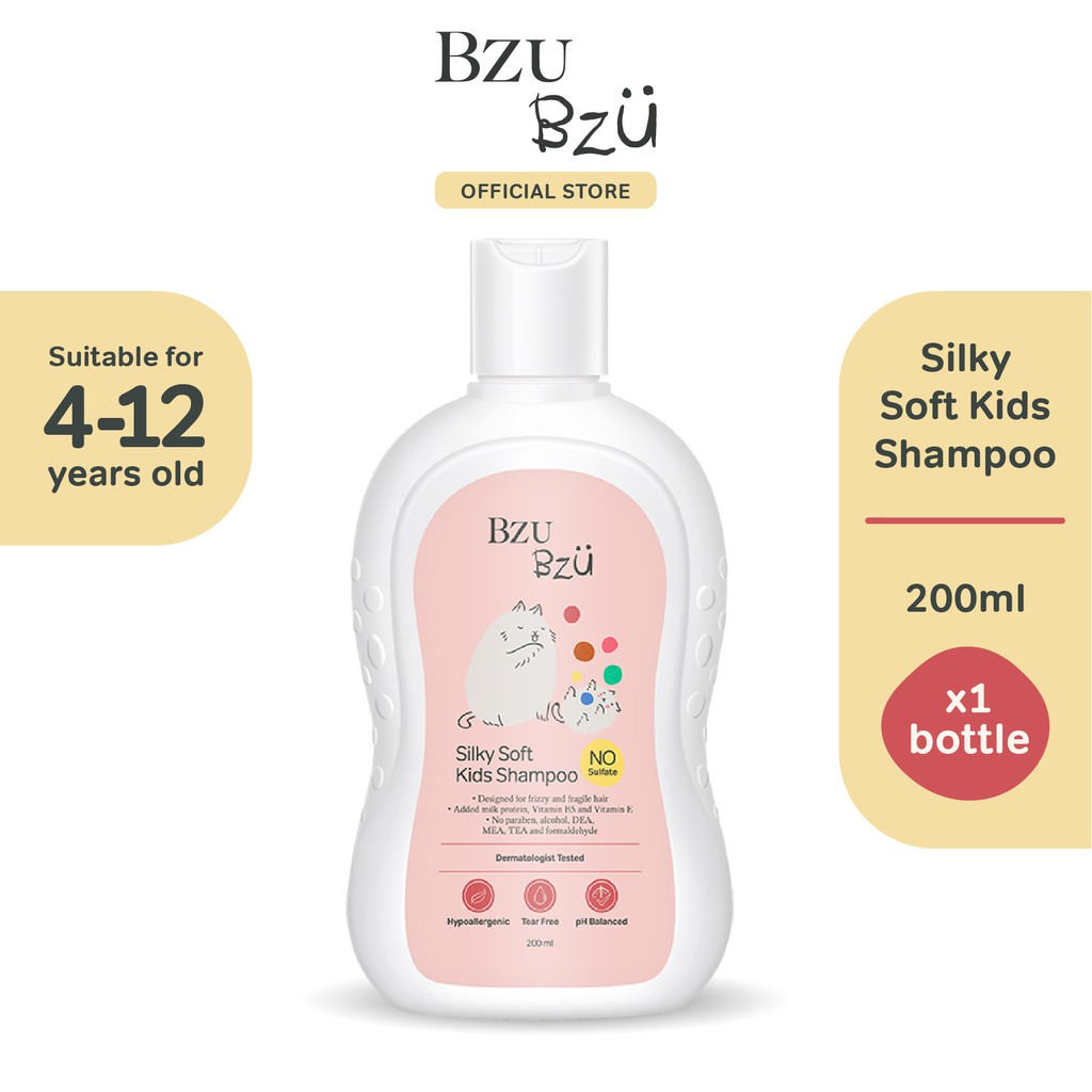 BZU BZU Silky Soft Kids Shampoo (200ml)