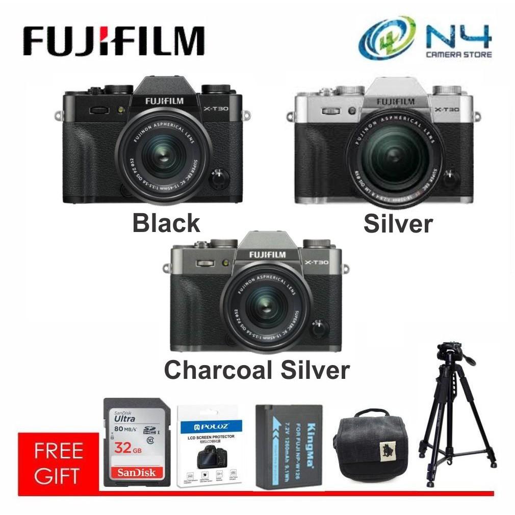 Fujifilm XT30 / X-T30 XF18-55mm (SV/BK/CS)FREE GIFT(worth RM199)