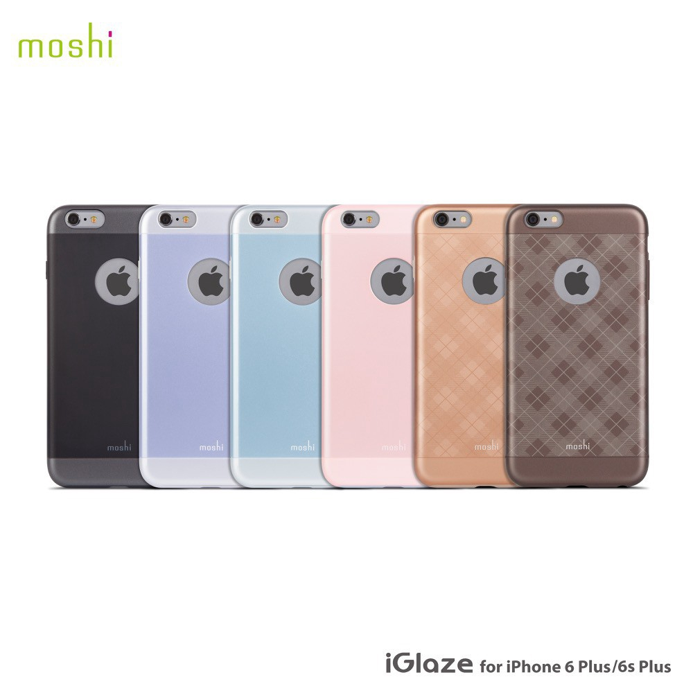 low priced 8e976 c7679 Moshi Iglaze Thin Protective Case For Iphone 6 6S Plus 超薄时尚保护背壳