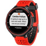 Garmin Forerunner 235 GPS Running Watch with Wrist-Based Heart Rate (Lava Red)