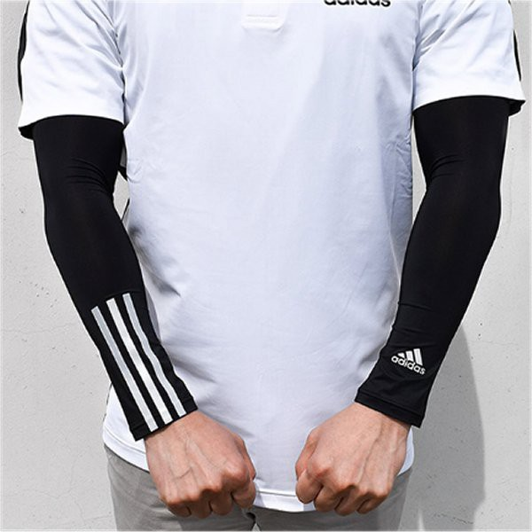 1b018439 Adidas Cool Arm Cover UV Protection Arm Cover 2 Color White(CJ3785 ...