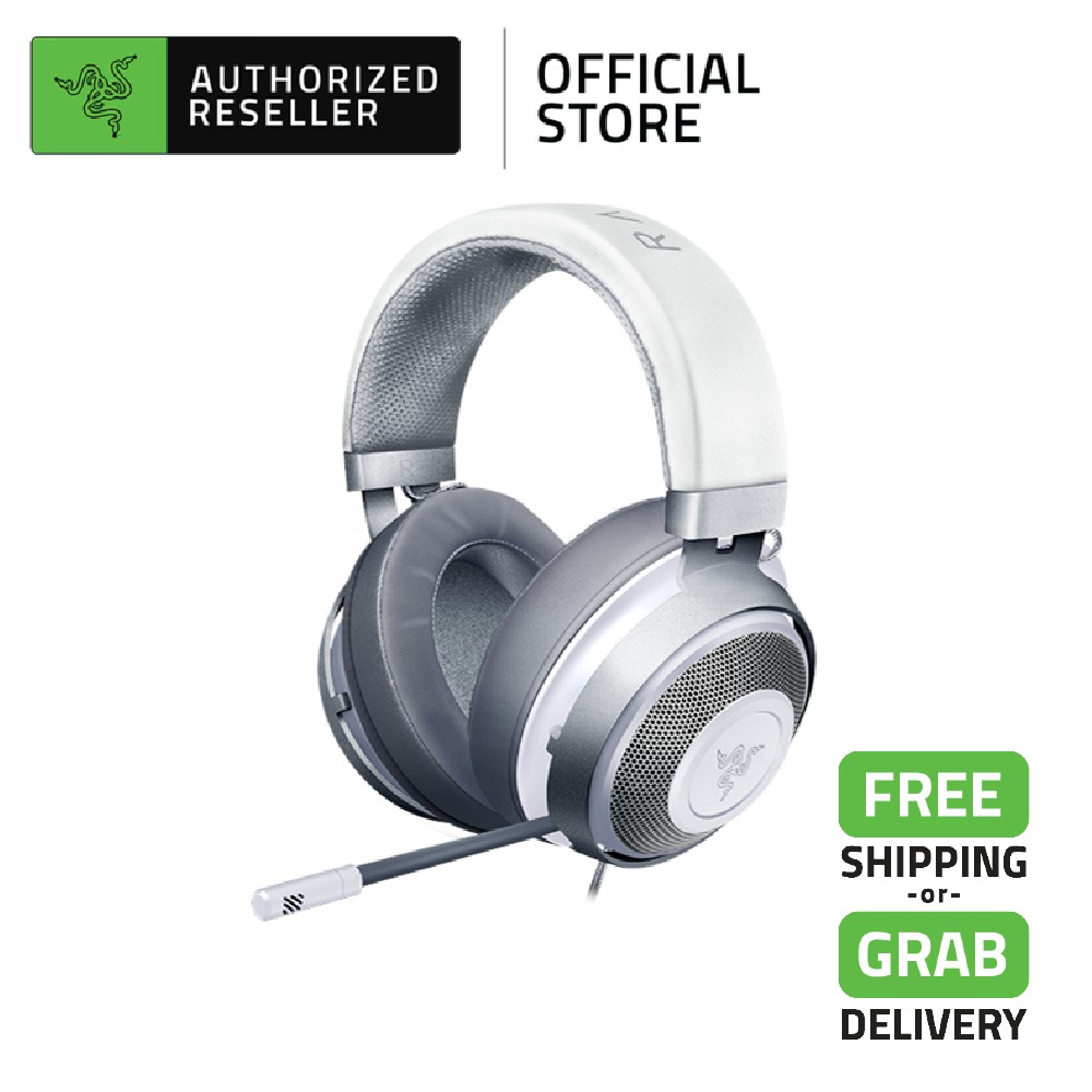 Razer Kraken Multi-Platform Competitive 7.1 Surround Sound Wired Gaming Headset - Mercury