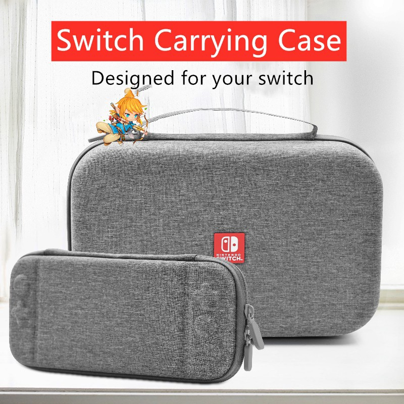 Nintendo Switch Portable Travel Hard Case Protective Storage Pouch bag