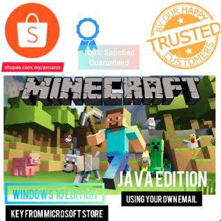 Official Minecraft Windows 10 & Java Edition