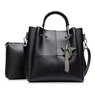 b50b5fbbe94 women handbag women shoulder bags high quality PU leather tote bag   Shopee  Malaysia