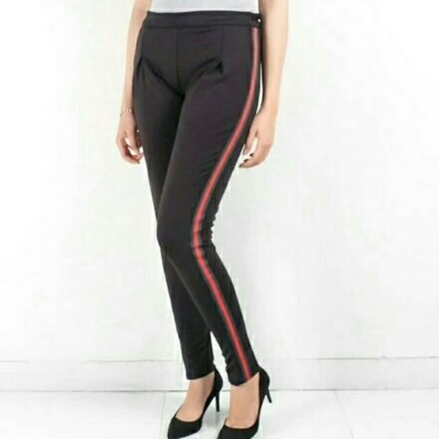 S Xxxl Jumbo List Legging Pants Women S Sport Pants Pants Shopee Malaysia