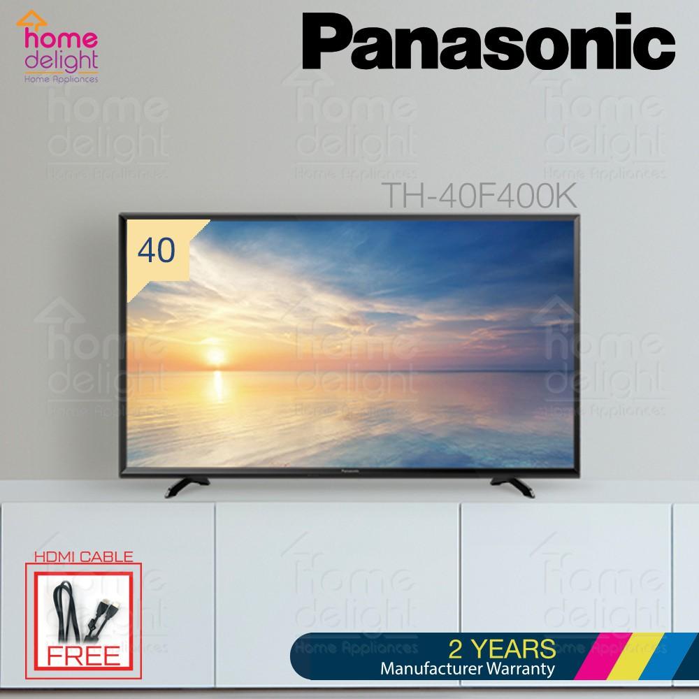 """Panasonic TH-40F400K 40"""" LED TV Hexa Chroma Drive"""