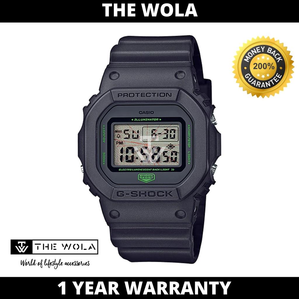 Casio G-Shock Men's Digital DW-5600MNT-1 YOSHIROTTEN Black Resin Sport Watch