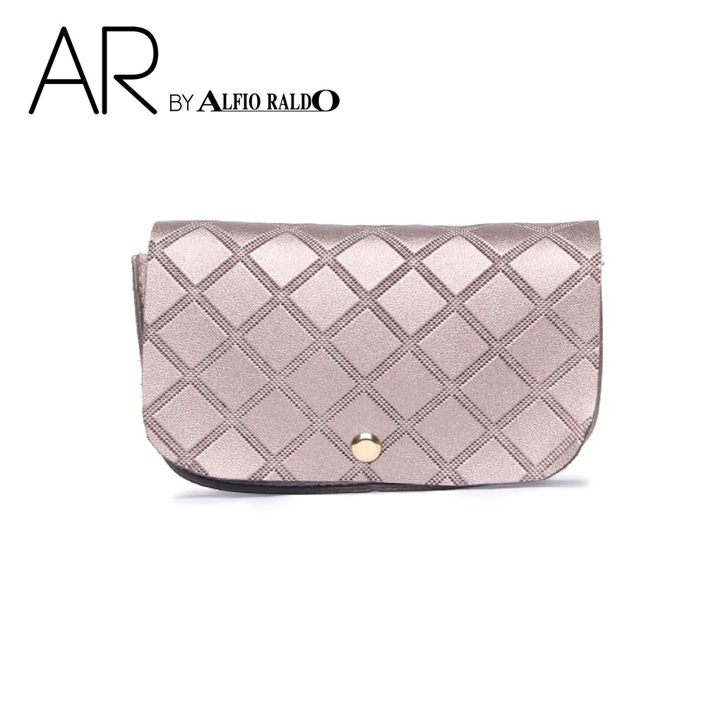 AR by Alfio Raldo Diamond Checkered Sling Bag
