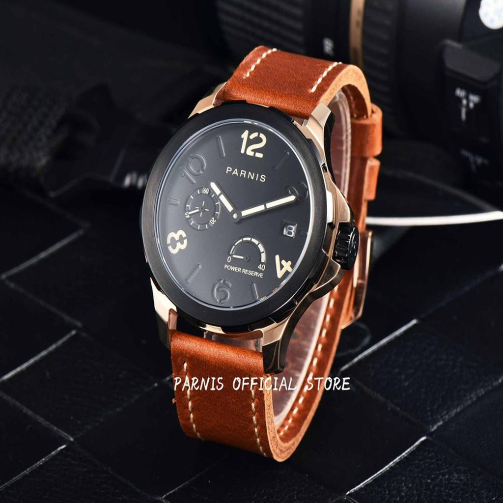 2 Years Fossil Warranty Me3027 Grant Automatic Brown Leather Jam Tangan Watch Shopee Malaysia