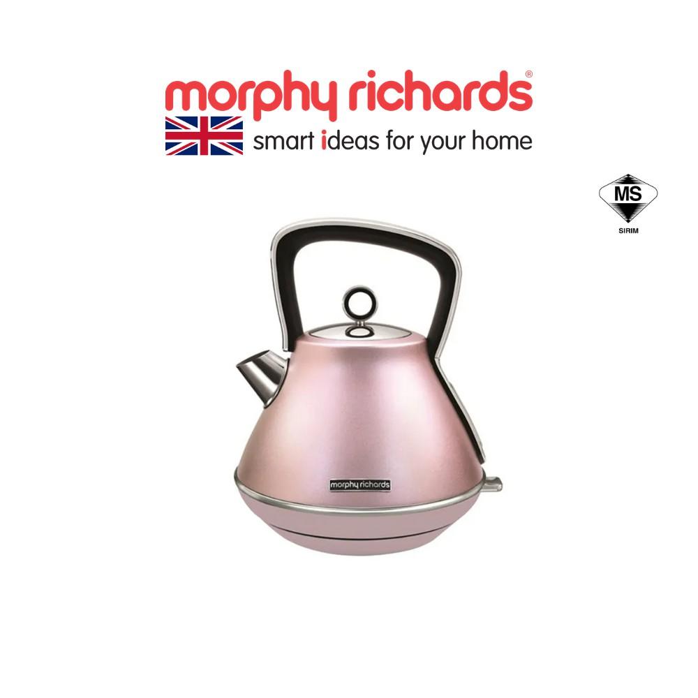 Morphy Richards Evoke Traditional Kettle - Rose Quartz 100117
