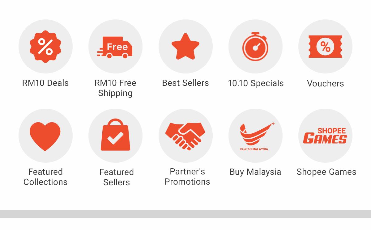 10 10 Brands Sale 2019 Rm10 Free Shipping Shopee Malaysia