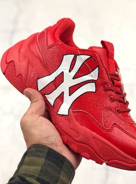 MLB NY RED SHOES YANKEES BASKETBALL SHOES ATHLETIC SHOES PREMIUM