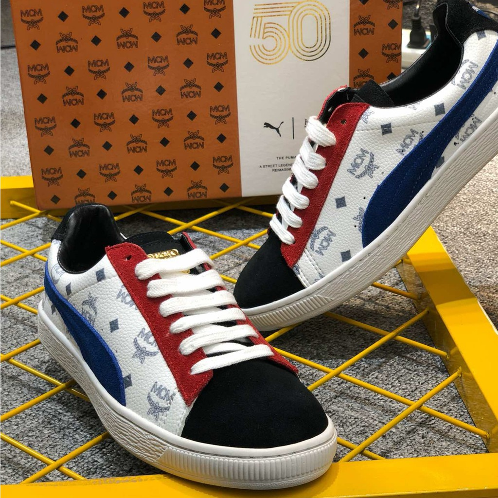 casual shoes 2f7ce4a4 puma suede x mcm 50th classic sneakers