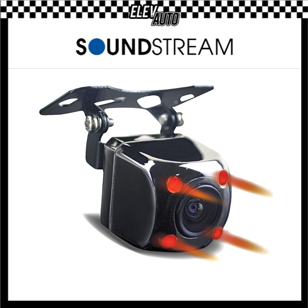 Soundstream Wide Angle Rear View Camera with Infrared RX.N310