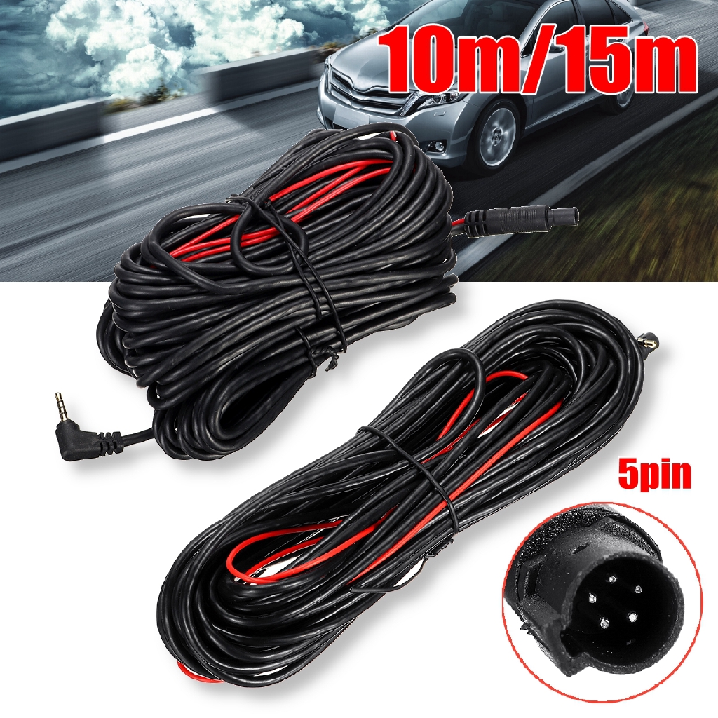 Dash Cam Rear View Backup Camera Reverse Car Recorder 40 Pin Extension Cable