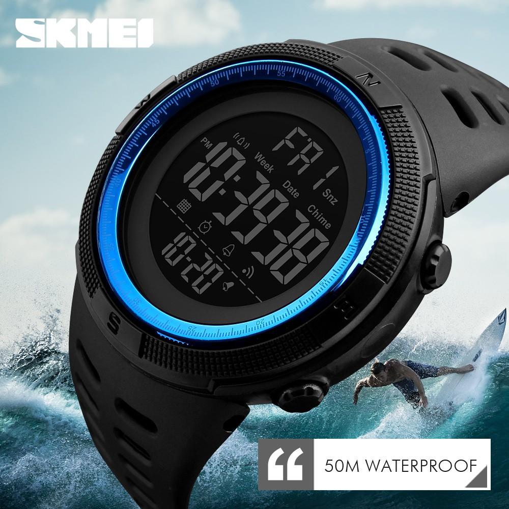 SHIHE SKMEI 1438 Mens Bluetooth Smart Sports Sleep Tracker Digital Watch | Shopee Malaysia