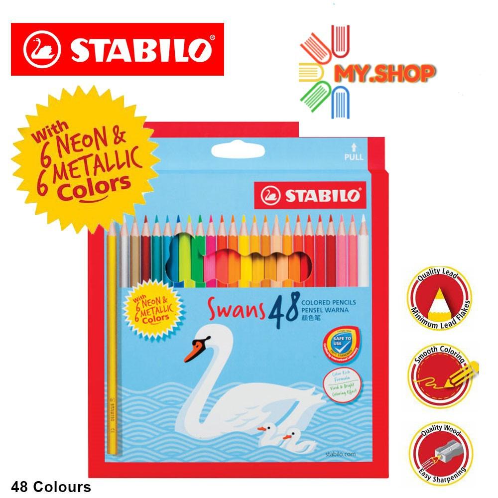 Stabilo 48s Colour Pencil (Metalic/Neon/Basicl)  1876M