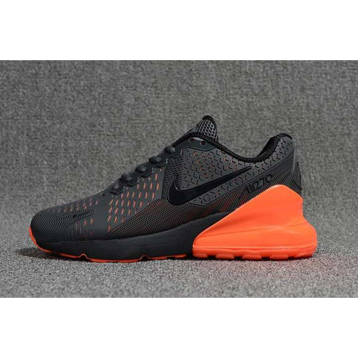 pretty nice 221f6 11704 Ready Stock 2019 Nike Air Max Flair 270 Men's Running Shoe Light Sports  Sneakers (Black/Orange)