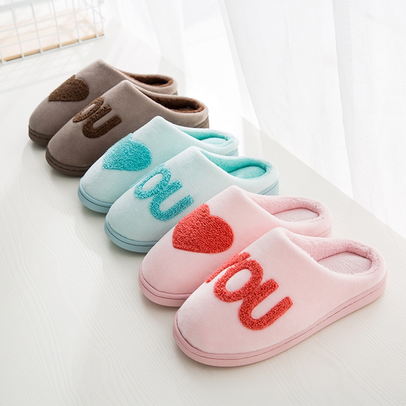 1ad524a18 home winter indoor cute warm cotton shoes